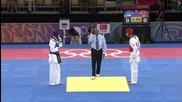 Младежки олимпийски игри 2010 - Таеклондо Мъже до 63 кг четвъртфинали