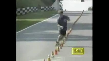 Няма по-луд от този със скейтборд - Световен Рекорд !