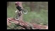 Insane Mountain Bike Crash