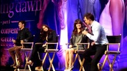 Peter Facinelli and Jackson Rathbone + _most embarrassing memory_ from 'breaking Dawn' set