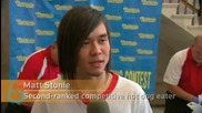 Matt Stonie Tops Joey Chestnut in Hot Dog Eating Contest