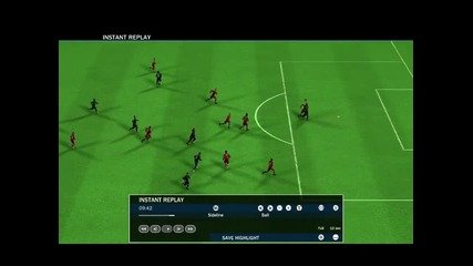 Fifa 10 - Страхотен гол
