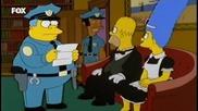 Семейство Симпсън С13 Е21 - Бг Аудио - Мардж и Хомър убвинени в убииство