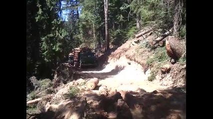 Holztransporter-kamaz