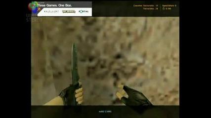 Таен начин да убиеш някого на de_dust2 - Counter Strike 1.6