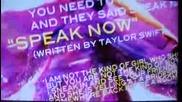 Speak Now Preview