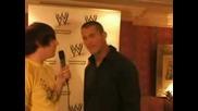 [ W W E ] Randy Orton удря шамар на Емо *смях*