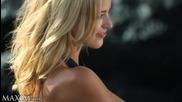 Kaitlynn Storms the Beach Topless For Maxim Hd
