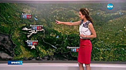 Прогноза за времето (14.08.2016 - обедна)
