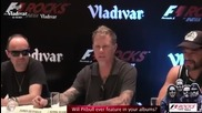 Metallica Funny Conference - F1rocks India with Vladivar