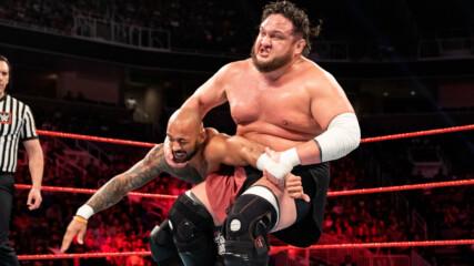 Braun Strowman, Ricochet & The Miz vs. Cesaro, Samoa Joe & Bobby Lashley: Raw, June 10, 2019 (Full Match)