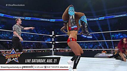 The Bella Twins vs. Naomi & Sasha Banks: SmackDown, July 23, 2015 (Full Match)