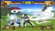Naruto Ultimate Ninja 5 - Kimimaro Vs. Sai