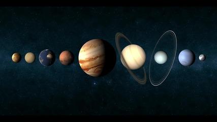 Модел на Слънчевата система в мащаб