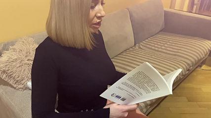 """Златина Иванова, светски журналист (Code Fashion), чете откъс от """"Датските железници"""""""