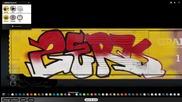 Скоростно рисуване - Zerk - Graff. Swat