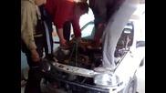 Иван,  Борката и Мирко смяна на двигател