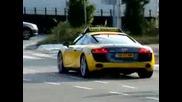 Страшен рев на Адското такси - Audi R8