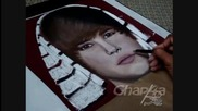 портрет на Justin Bieber!!!