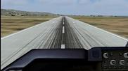 Fs9: Transaero Boeing 747 Landing at Varna