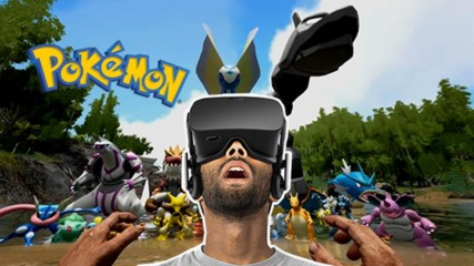 Catching Pokemon Now Also In VR