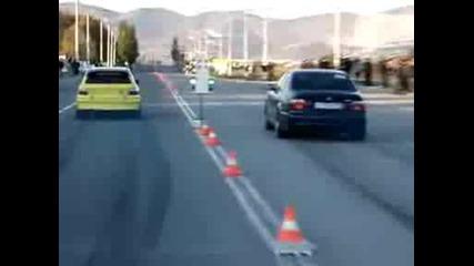 Opel Astra Turbo 4x4 vs Bmw M5! Вие За Коя Сте ???