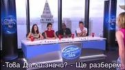 American Idol - Кукувица си мисли че може да пее Simon Иска да скочи от прозореца