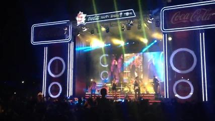 Мария Илиева - Играя стилно (live - Coca Cola Happy Energy Tour)