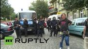 Germany: Scuffles follow police shutdown of unauthorised street market in Berlin