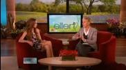 Lindsay Lohan Разказва За Всички Слухове Около Нея и Саманта В Шоуто на Ellen