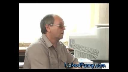 Скрита камера - Секретарката Смях 100%