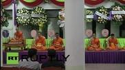 Тайланд: Опечалени се събраха в памет на жертва на бомбената атака в Бангкок