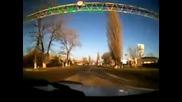 Камион с крави се обръща в Русия!