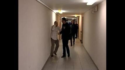 Тити Папазов и Вили Вуцов в действие след Левски - Дунав