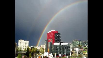 Двойната дъга над София - 20.04.2012 г.