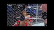 Wwe Разбиване 23.8.2013г. - [ част 8 ] Wade Barret срешу Daniel Bryan мач в клетка
