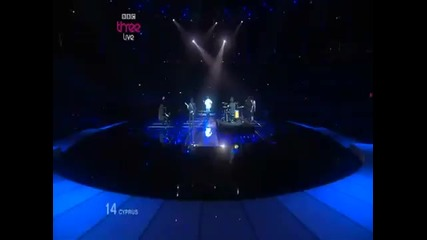 Евровизия Кипър 2010 - Jon Lilygreen& The Islanders - Life looks better in sprin (eurovision 2010)
