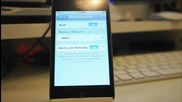 Как да премахнем неприятния звук когато записваме видео с ipod Touch 4g