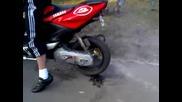 Yamaha Aerox burnout 70ccm Max Biagii