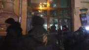 Ukraine: Russia's Sberbank targeted on third anniversary of Maidan
