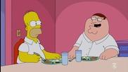 Семейният тип (family guy) – The Simpsons Guy (с13е1, 2014)