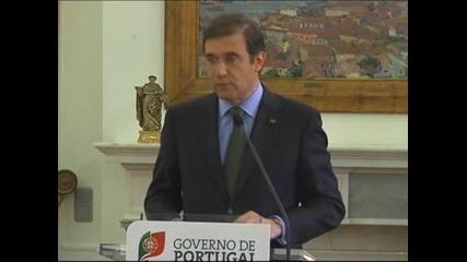Премиерът на Португалия заяви, че няма да подаде оставка
