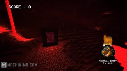 Minecraft_ Ghast First Person