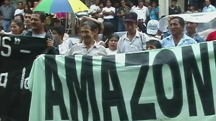 """""""шеврон"""" осъдена за 8.6 милиарда долара от Еквадор"""
