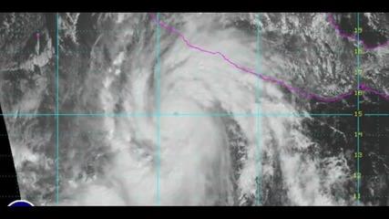 Ураганът Патрисия - най-силният, регистриран някога в Западното полукълбо