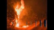 Хиляди хора са евакуирани в Сърбия заради големи пожари