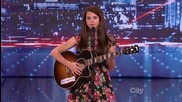 14 годишно момиче пее страхотно песен посветена на баща си!