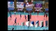 ЦСКА спечели волейболното Вечно дерби с 3:2 гейма