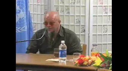 Борис Гребенщиков в ООН