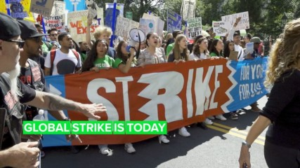 Second round: The global climate strike strikes again